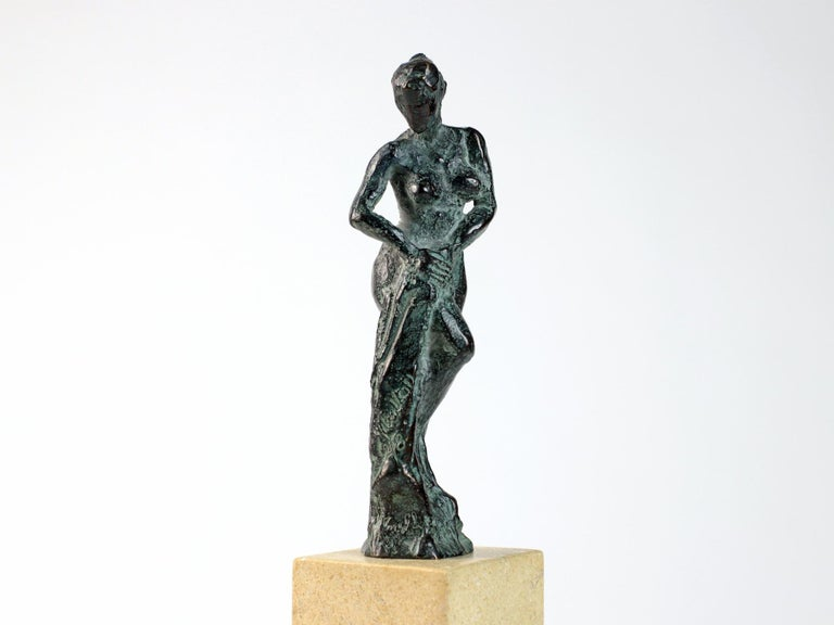 Bather II, Female Nude Bronze Sculpture For Sale 3