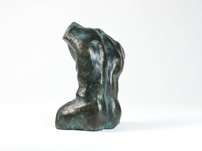 Belenos III is a bronze sculpture by French contemporary artist Yann Guillon. Yann Guillon focuses his work on the human body, using an expressionist approach to convey alternately strength or sensuality. He often brings to life segments of bodies