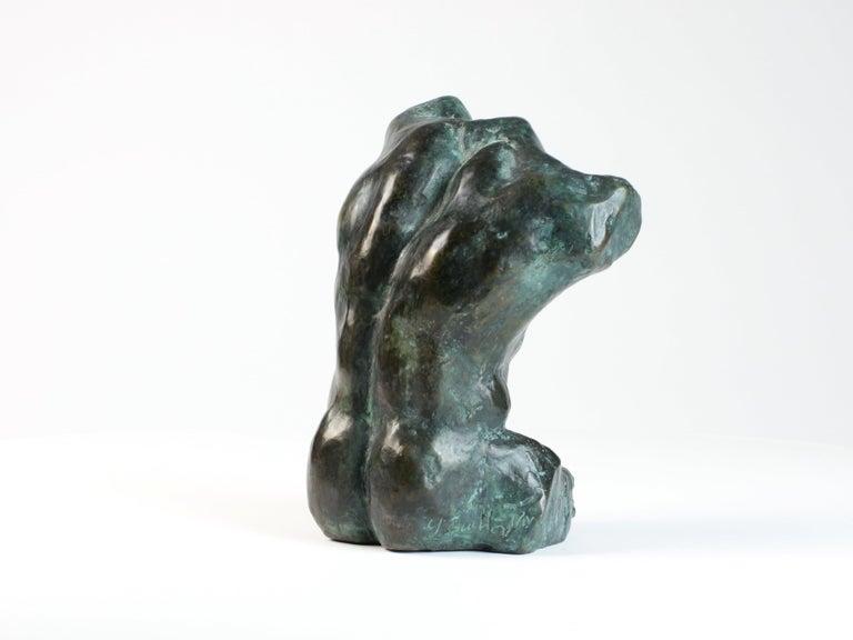 Belenos III,  Bronze Sculpture, Nude Male Torso For Sale 1