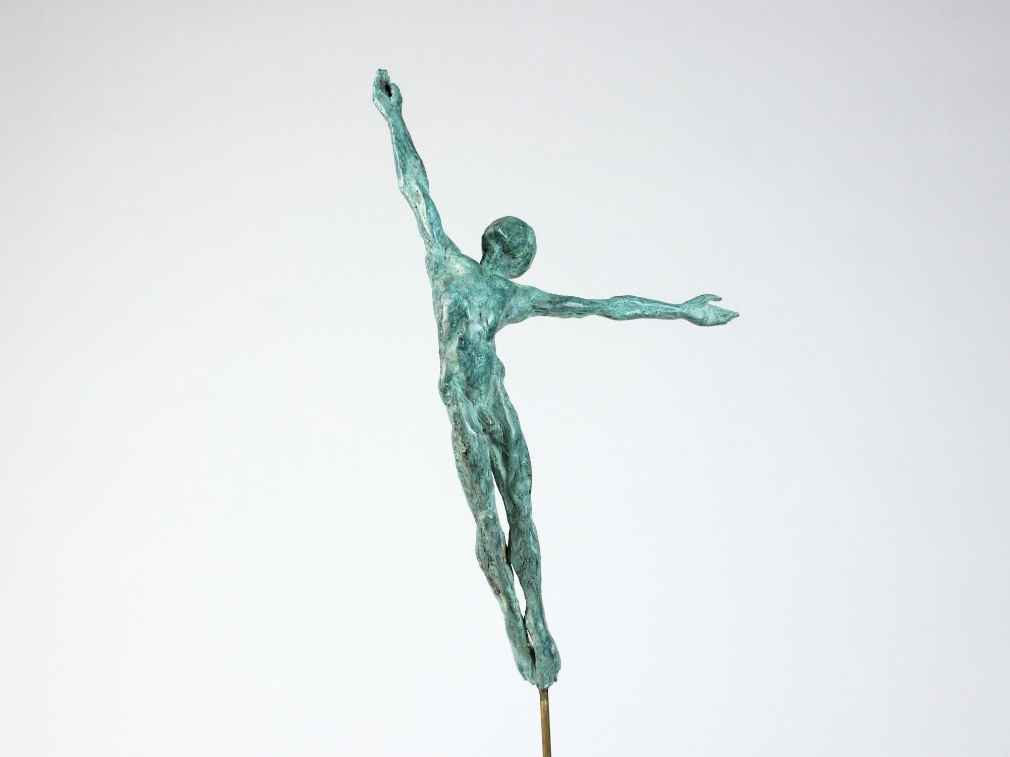 Danseur Attirance II, Male Dancer Bronze Sculpture