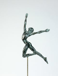 "Danseur ""Elévation"", Dancer Bronze Sculpture"