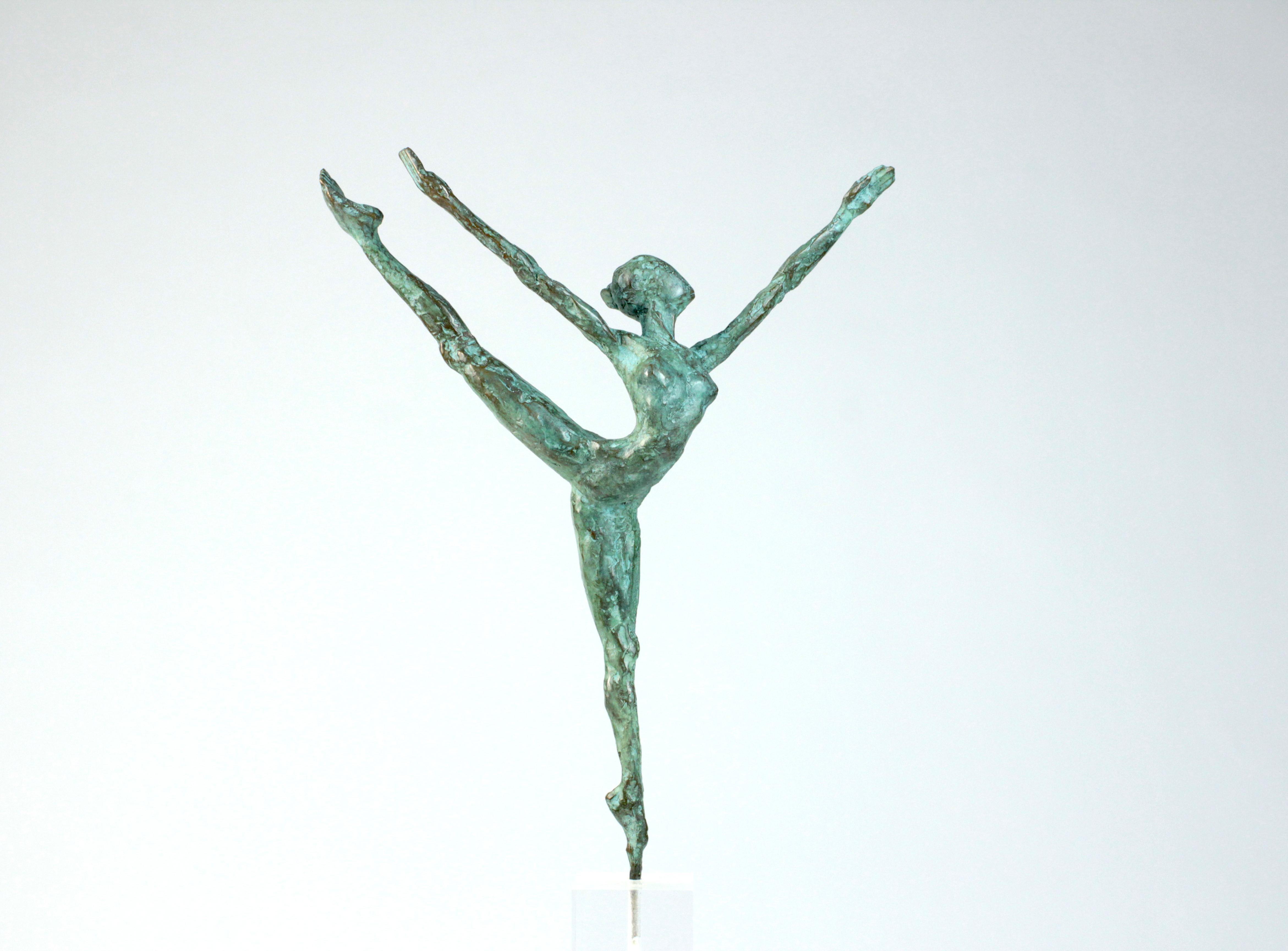"Danseuse ""Elancée"", Dancer Bronze Sculpture"