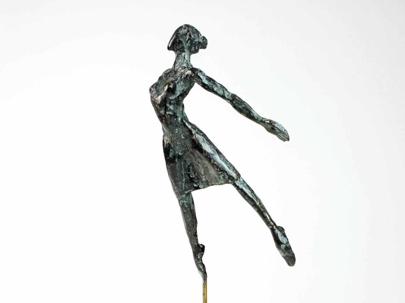 Danseuse Envolée, Female Dancer Bronze Sculpture