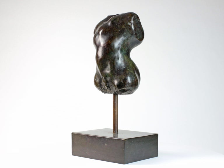 Hermaphrodite I,  Bronze Sculpture, Nude Torso For Sale 1