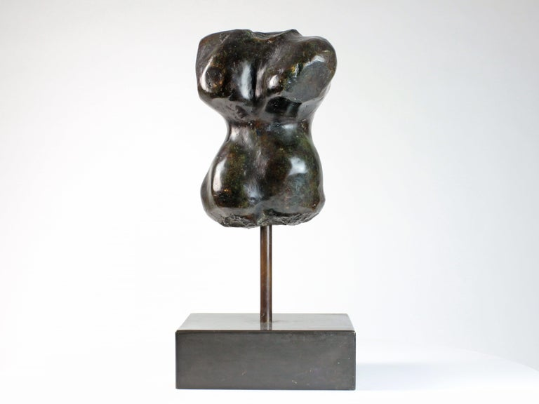 Hermaphrodite I,  Bronze Sculpture, Nude Torso For Sale 4