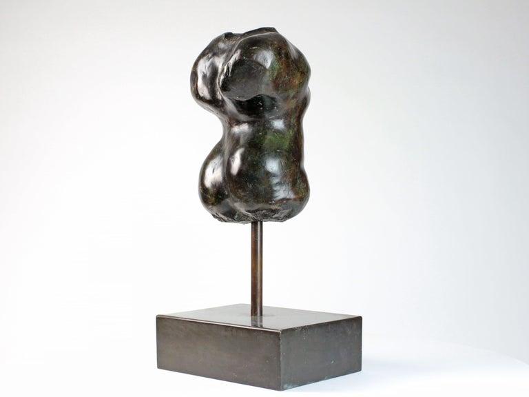 Hermaphrodite I,  Bronze Sculpture, Nude Torso 1