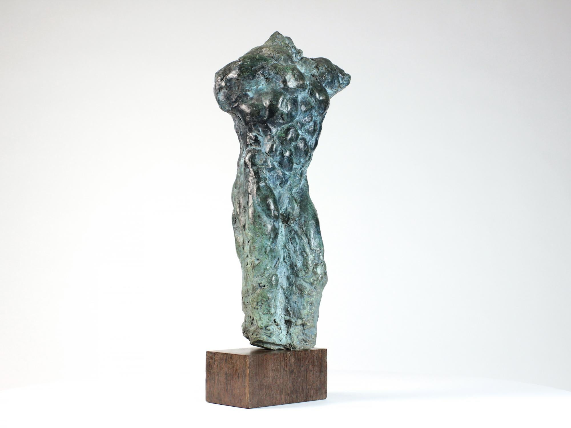 Lancelot II,  Male Nude Bronze Sculpture