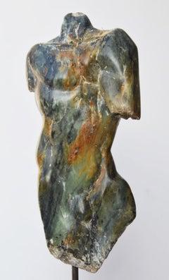 Man's Torso III, Contemporary Stone Sculpture