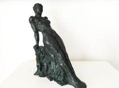 Mathilde, Female Nude Bronze Sculpture