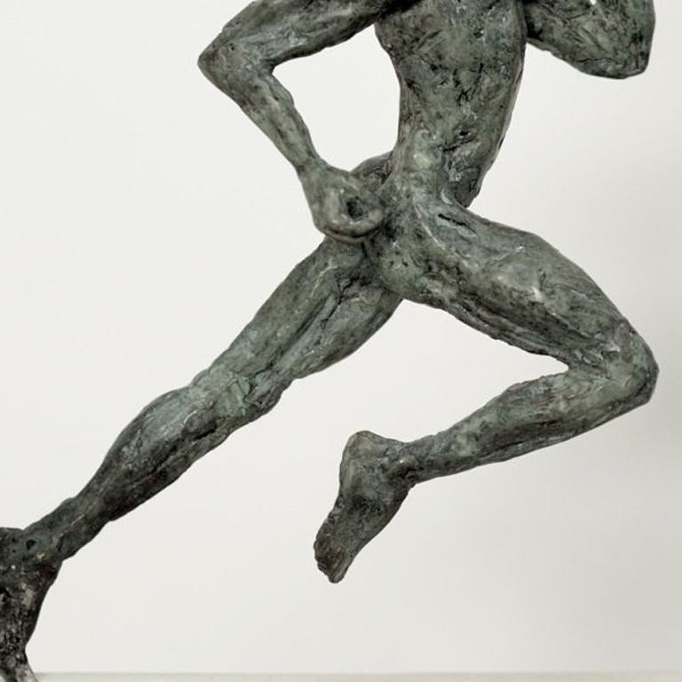 Yann Guillon - Thought, Contemporary Bronze Female Figure
