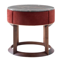 Yann Night Side Table by Castello Lagravinese Studio