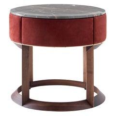 Yann Night Side Table by Castello Lagravinese Studio