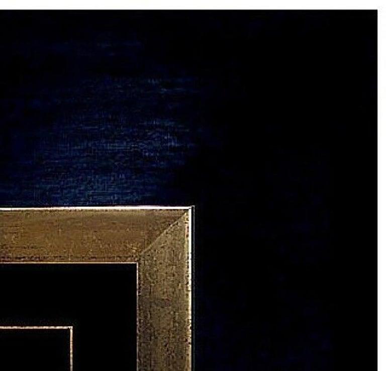 Yannick Ballif Color Etching Carborundum HAND SIGNED Abstract Portrait Artwork For Sale 1