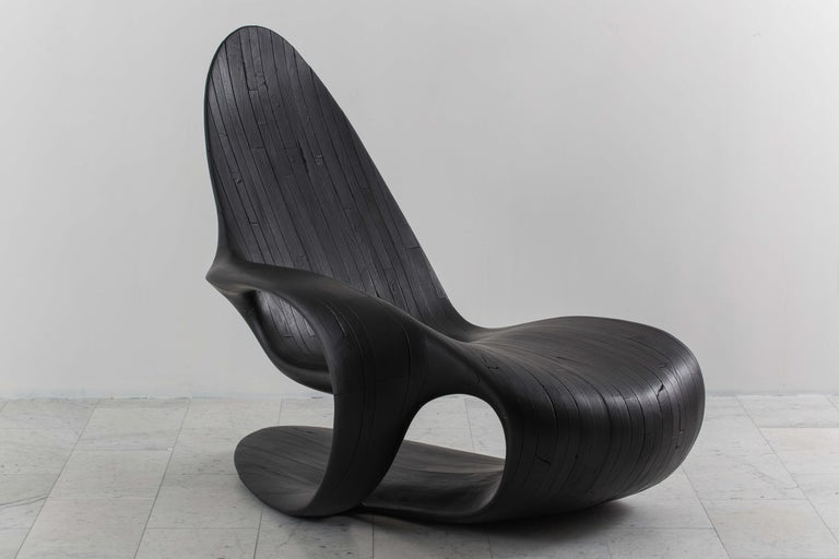Yard Sale Project, Chaise One Black, UK, 2016 In New Condition For Sale In New York, NY