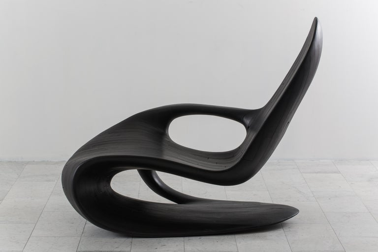 Yard Sale Project, Chaise One Black, UK, 2016 For Sale 3