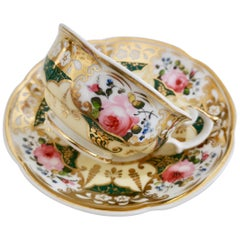 Yates Teacup, Persian Revival Patt. 1559, circa 1830