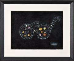 Spirit of Glasses by YAYOI KUSAMA - Contemporary female artist, pop art