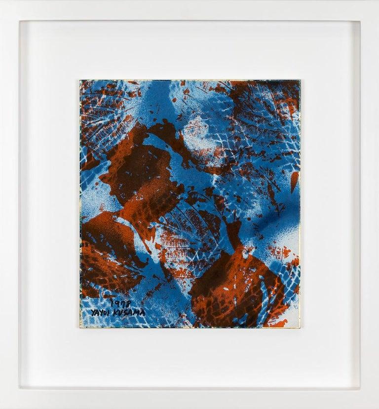 Late Autumn Skies - Abstract Mixed Media Art by Yayoi Kusama
