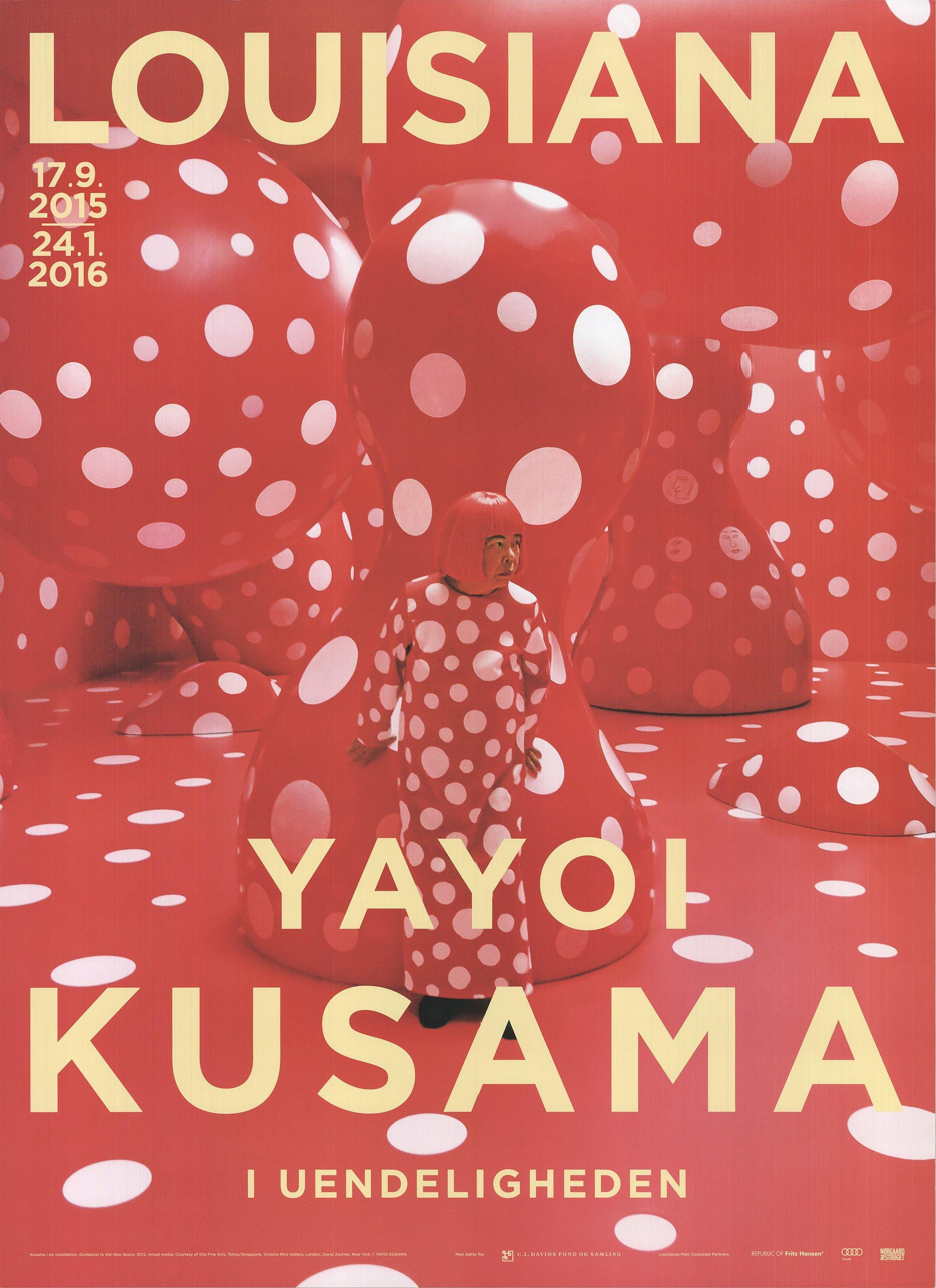 2015 After Yayoi Kusama 'Guidepost to the New Space' Contemporary Denmark