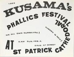 Kusama Phallics Festival (60s Kusama)