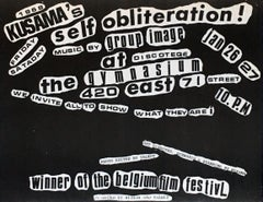 Kusama, Self Obliteration (60s Kusama announcement)