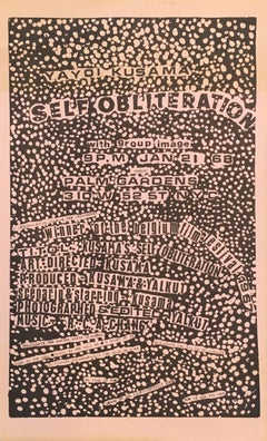 Yayoi Kusama, Self Obliteration, New York City (announcement)