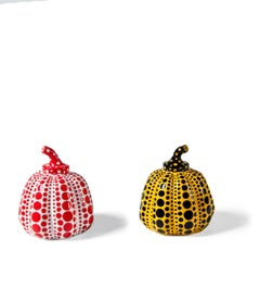 Pumpkin Object (White) & Pumpkin Object (Yellow)