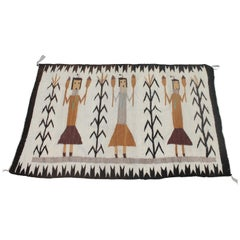 Yea Navajo Indian Weaving