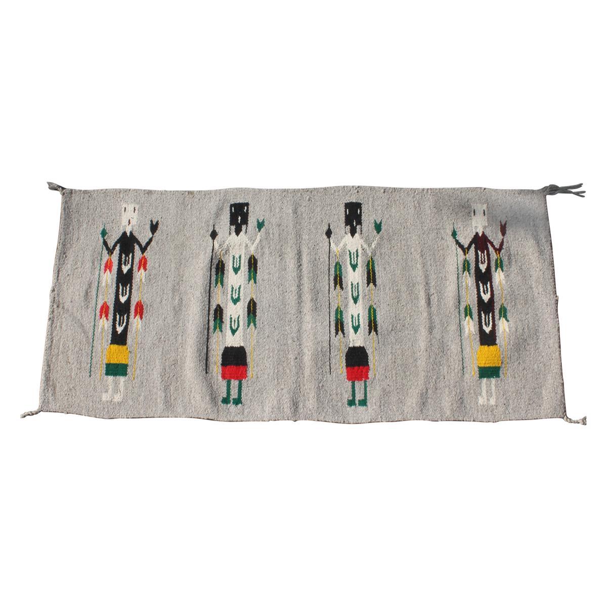 Yei Navajo Indian Weaving