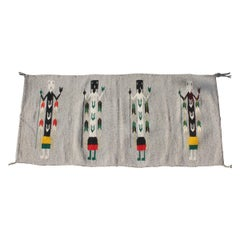 Yei Navajo Indian Weaving