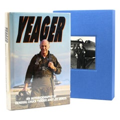 Yeager: An Autobiography, by Chuck Yeager and Leo Janos, Signed by Yeager, 1985