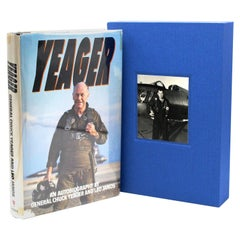 Yeager An Autobiography, Signed by Chuck Yeager, Early Printing, 1985