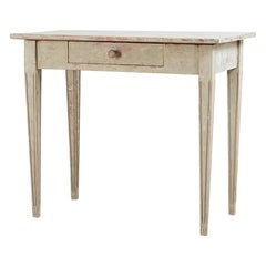 Year 1800 Window Table or Side Table in Gustavian Style