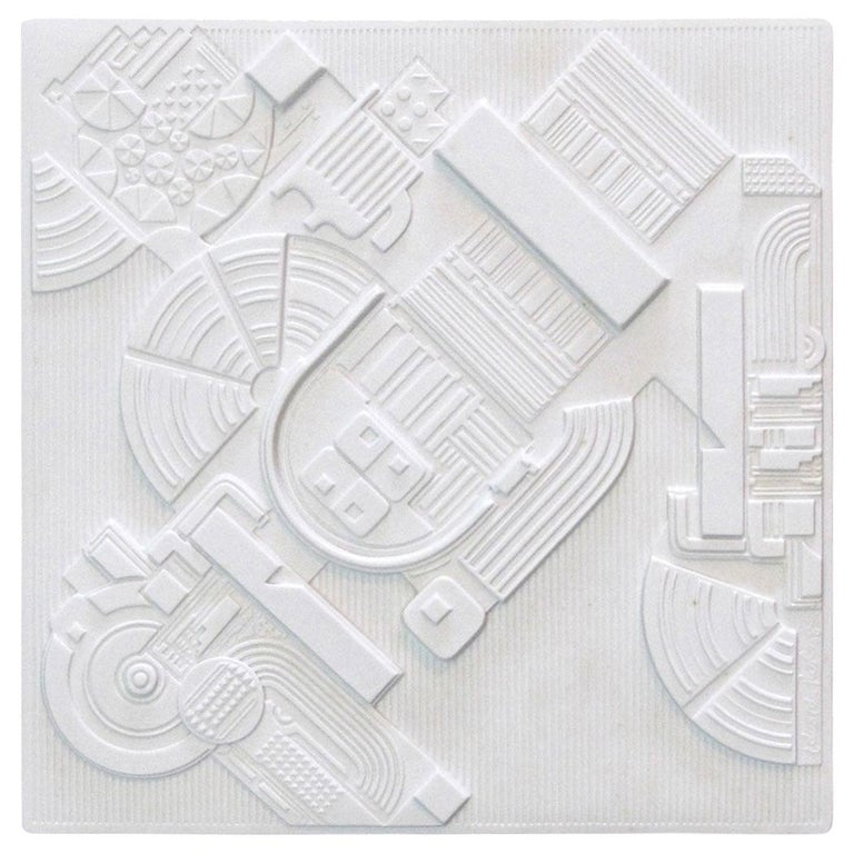 Year Plate by Eduardo Paolozzi for Rosenthal, 1978 For Sale