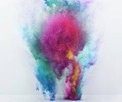 Exploding Powder Movement: Multicolor