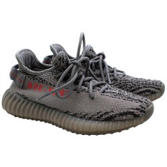 Yeezy Adidas Grey Boost 350 V2 Trainers - Size US 4.5