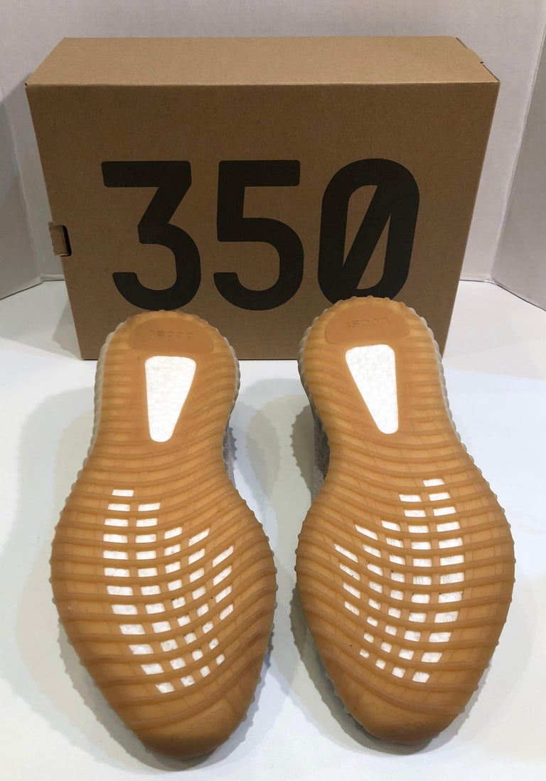 712ea27e7b1 Yeezy Boost 350 V2 Adidas  Kanye Sesame Originals US Size 10.5 Shoes with  Box In
