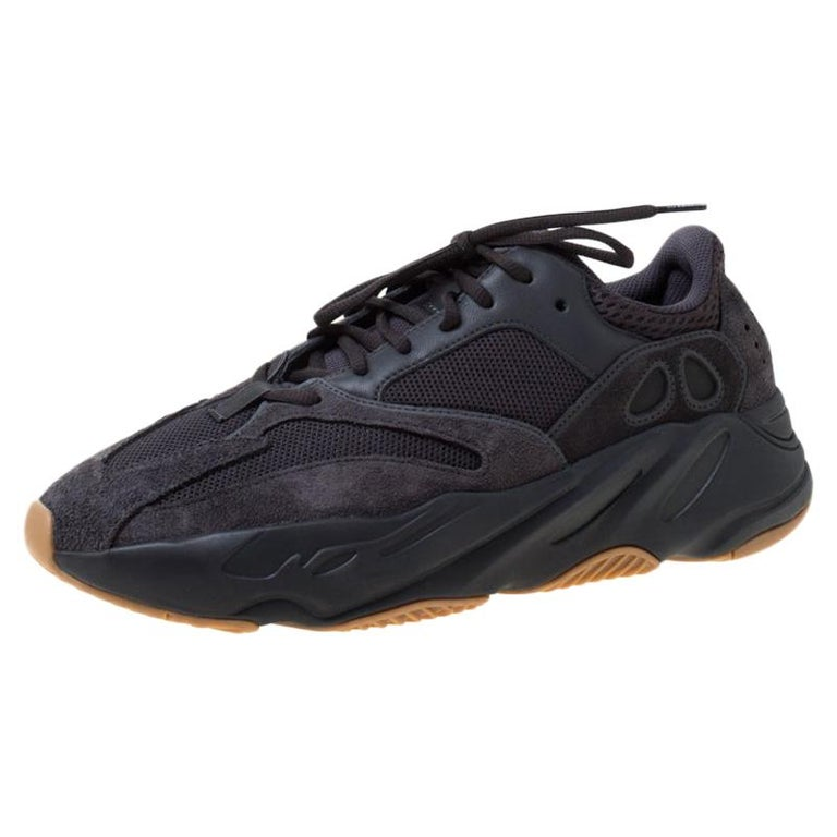 new style fe286 ea4f9 Yeezy x Adidas Utility Black Boost 700 Wave Runner Sneakers Size 45.5