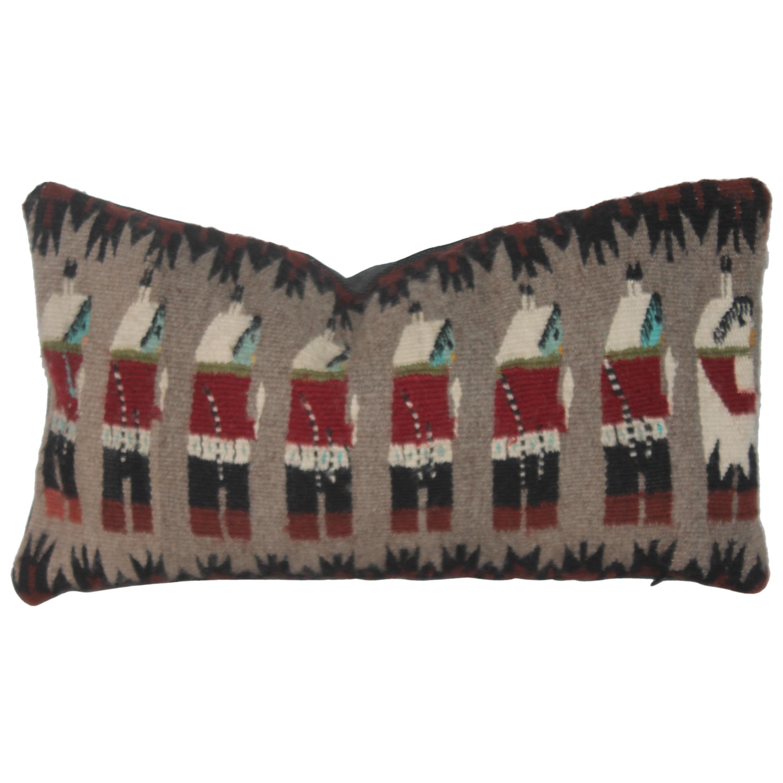 Yeibechei Indian Weaving Pillow