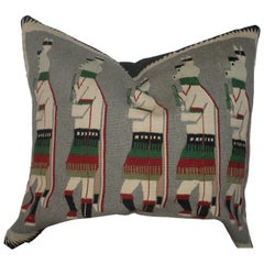Yeibechei Navajo Indian Weaving Pillow