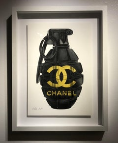 Die in Chanel (gold)