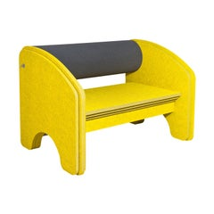 Yellow Big Dumbo Sound Absorbing Armchair by Marie Aigner
