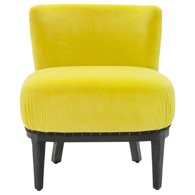 Yellow Black Chair For Sale