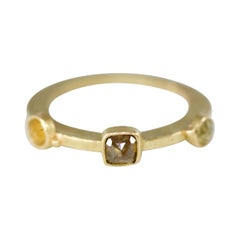 Yellow Brown Diamonds in 18k Gold Fashion Ring and More Gift Ideas