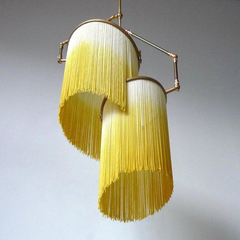 Post-Modern Yellow Charme Pendant Lamp, Sander Bottinga