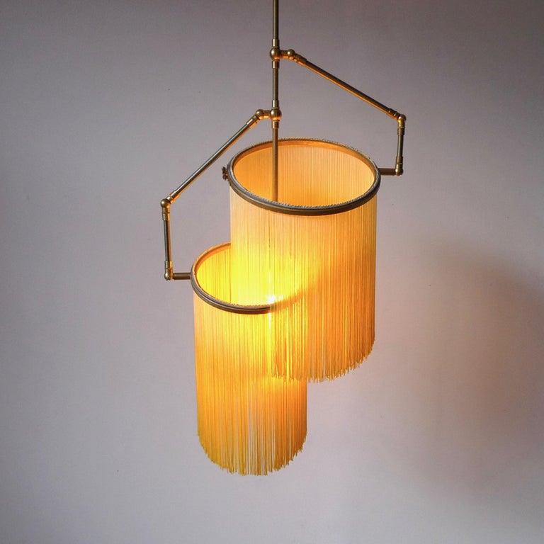 Dutch Yellow Charme Pendant Lamp, Sander Bottinga