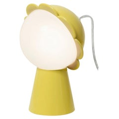 Yellow Daisy Lamp with LED, Designed by Nika Zupanc, Made in Italy