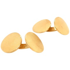 Yellow Gold 18 Karat Cufflinks