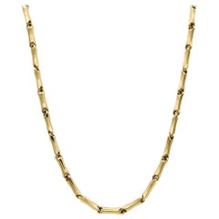 Yellow Gold 18 Karat Link Necklace