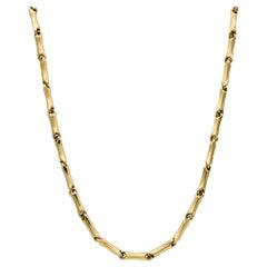 Yellow Gold 18 Karat Link Necklace